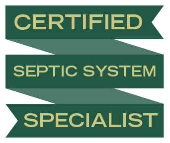 Certified Septic System Specialist Ribbon